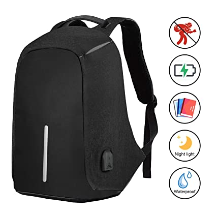 758452f5f718 Travel Laptop Backpack, Business Anti-Theft Computer Backpack, Ergonomic  Design, Durable, Water Proof, High Capacity, Ideal for ...