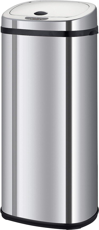 Acero Inoxidable 42/l, Modelo a/ño 2016 Cuadrado Kitchen Move BAT-42LS02/-/Cubo de Basura autom/ático