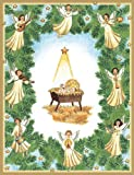 Baby in Manger Boxed Christmas Cards