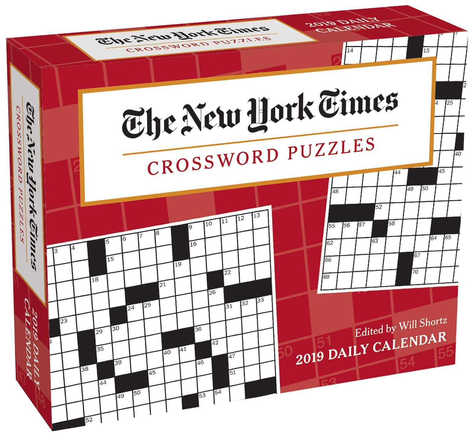 The New York Times Crossword Puzzles 2019 Day-to-Day ...