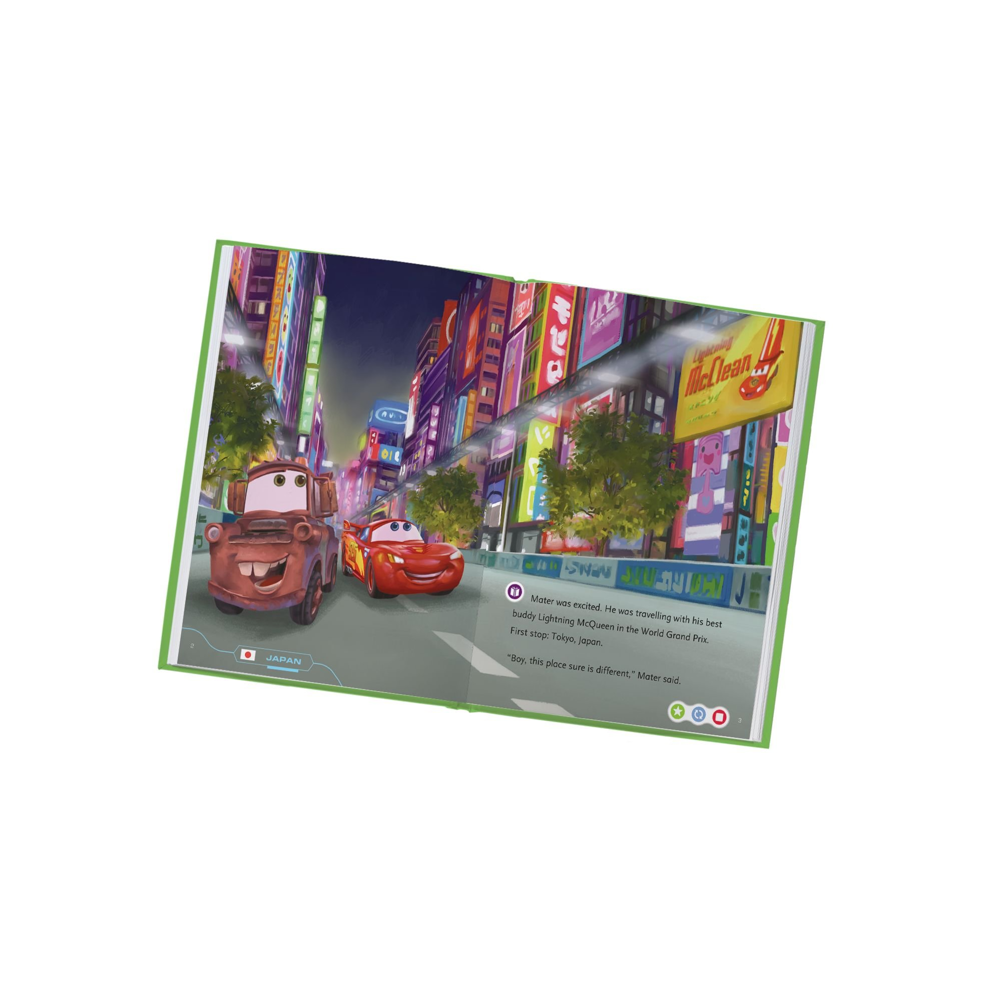 LeapFrog LeapReader Book: Disney/Pixar Cars 2: Project Undercover (works with Tag) by LeapFrog (Image #4)