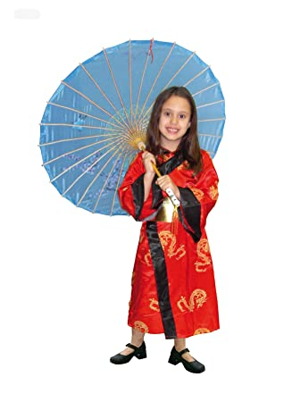EL CARNAVAL Disfraz Geisha Infantil Talla de 8 a 10 años ...