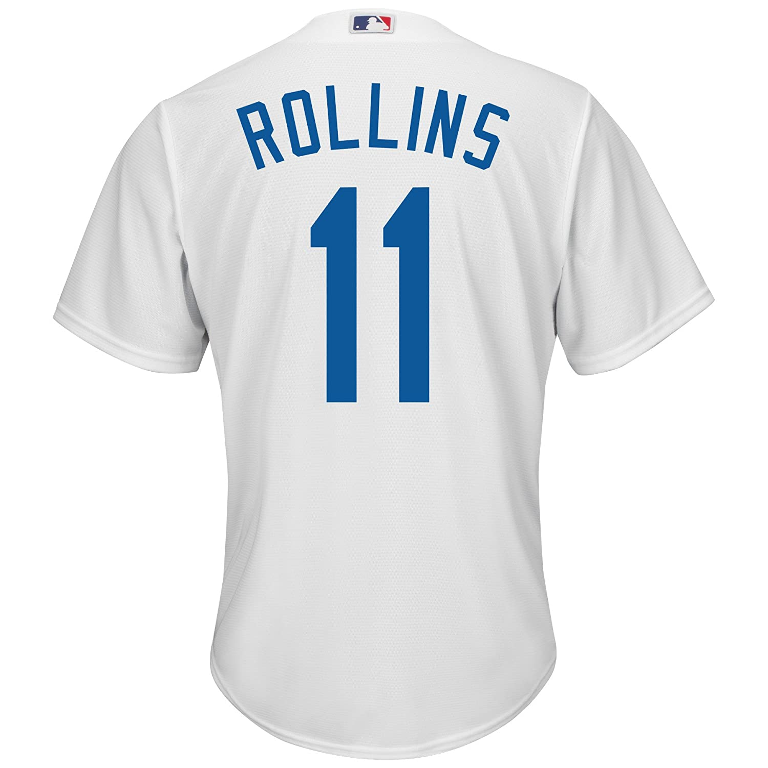 3a1a1f07c ... Amazon.com Jimmy Rollins Los Angeles Dodgers 11 MLB Mens Cool Base Home  Jersey ( Infielder Jimmy Rollins 11 of the Philadelphia Phillies ...