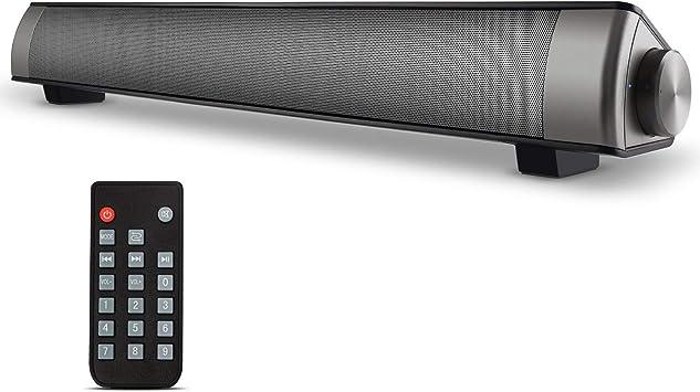 Amazon.com: Barras de sonido, interruptor de audio con cable ...
