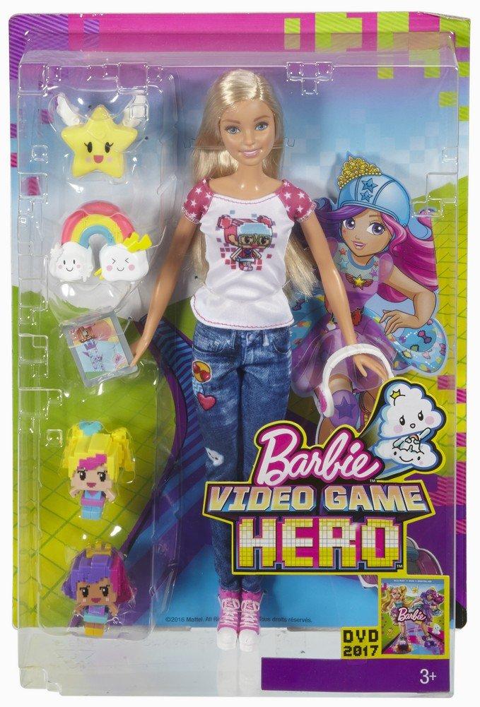 Barbie Mattel DTV96 - Die Videospiel-Heldin Real Life: Amazon.de ...
