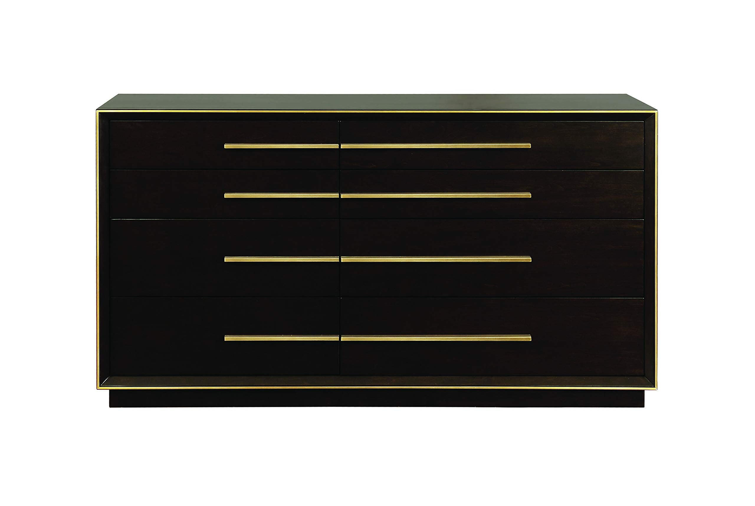 Scott Living 215713 Ingerson 8-Drawer Dresser, Smoked Peppercorn by Scott Living (Image #2)