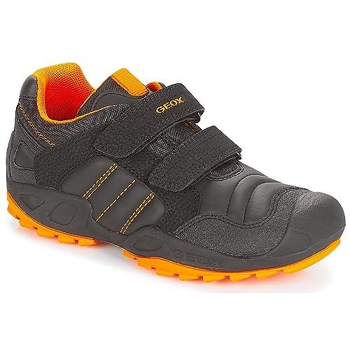 Zapatillas para niño, Color Negro, Marca GEOX, Modelo Zapatillas para Niño GEOX J New Savage B.A Negro: Amazon.es: Zapatos y complementos