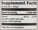 Amazon Elements Vitamin E, 400 IU, 100