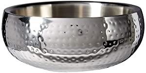 Elegance Salad Bowl Hammered, 11-Inch