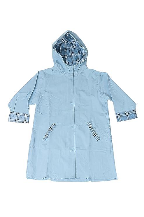 63c26a2a8 Amazon.com  Fit Rite Boys Girls Hooded Waterproof Long Raincoat Full ...