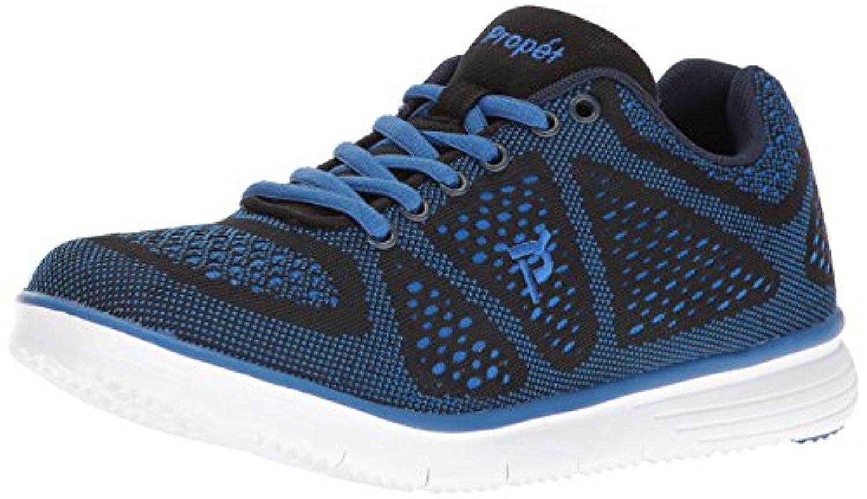 Propet Men's TravelFit Shoe Black / Blue 11 X (3E) & Oxy Cleaner Bundle