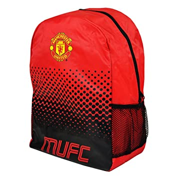 Football FC Manchester United Mochila, Unisex Adulto, Talla Única: Amazon.es: Deportes y aire libre