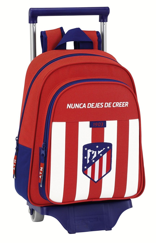 Safta Mochila Infantil Atlético De Madrid Oficial Con Carro Safta 125x95mm