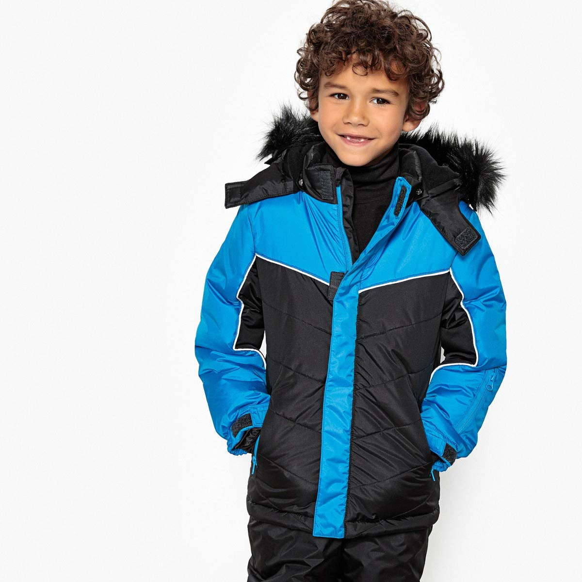La Redoute Collections Big Boys Ski Jacket, 3-16 Years Blue Size 3 Years