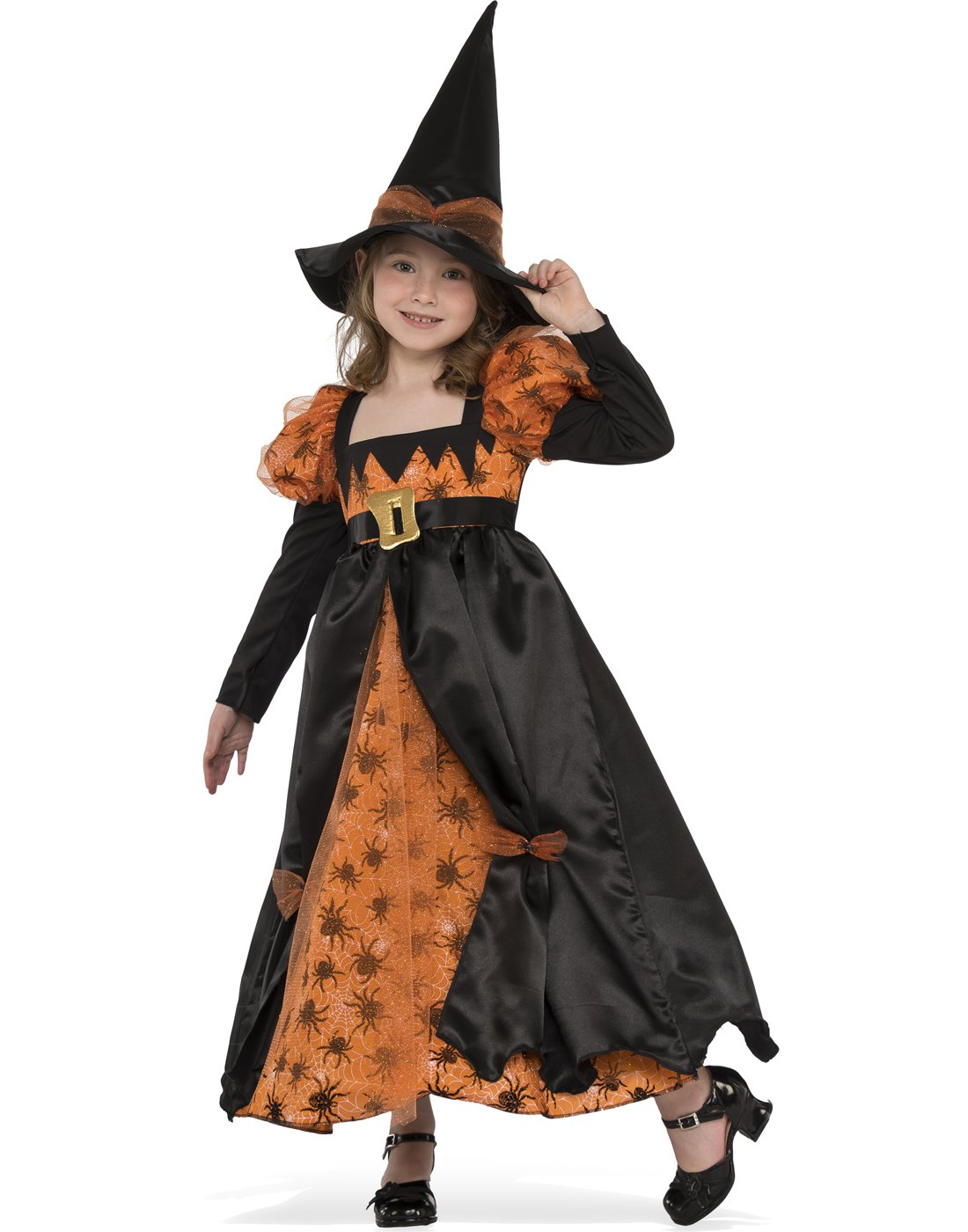 - 71wKarn3cnL - Rubies Costume Child's Spider Witch Costume