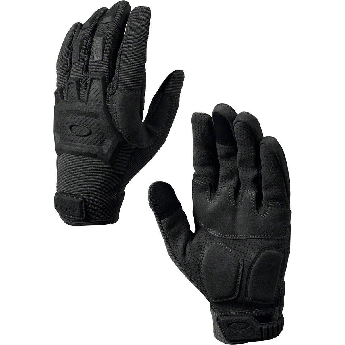 5b320a1f578 Amazon.com  Oakley Flexion Mens Snow Snowmobile Gloves - Black  Sports    Outdoors