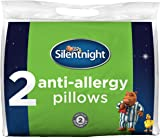 Silentnight Anti-Allergy Pillow - White, Pack of 2