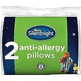 Silentnight Anti-Allergy Pillow - White, Pack of 2