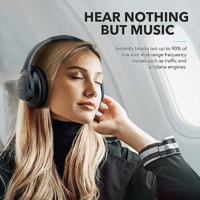 Anker 安克 Soundcore Life Q20 蓝牙5.0 Hi-Res 主动降噪头戴式耳机 优惠券折后$49.99 两色可选  海淘转运到手约¥387