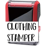 Trodat Clothing Stamp - 15 Font Options - Self-Inking Name Stamp - Up to 2 Lines Self Inking School Uniform Name Stamp