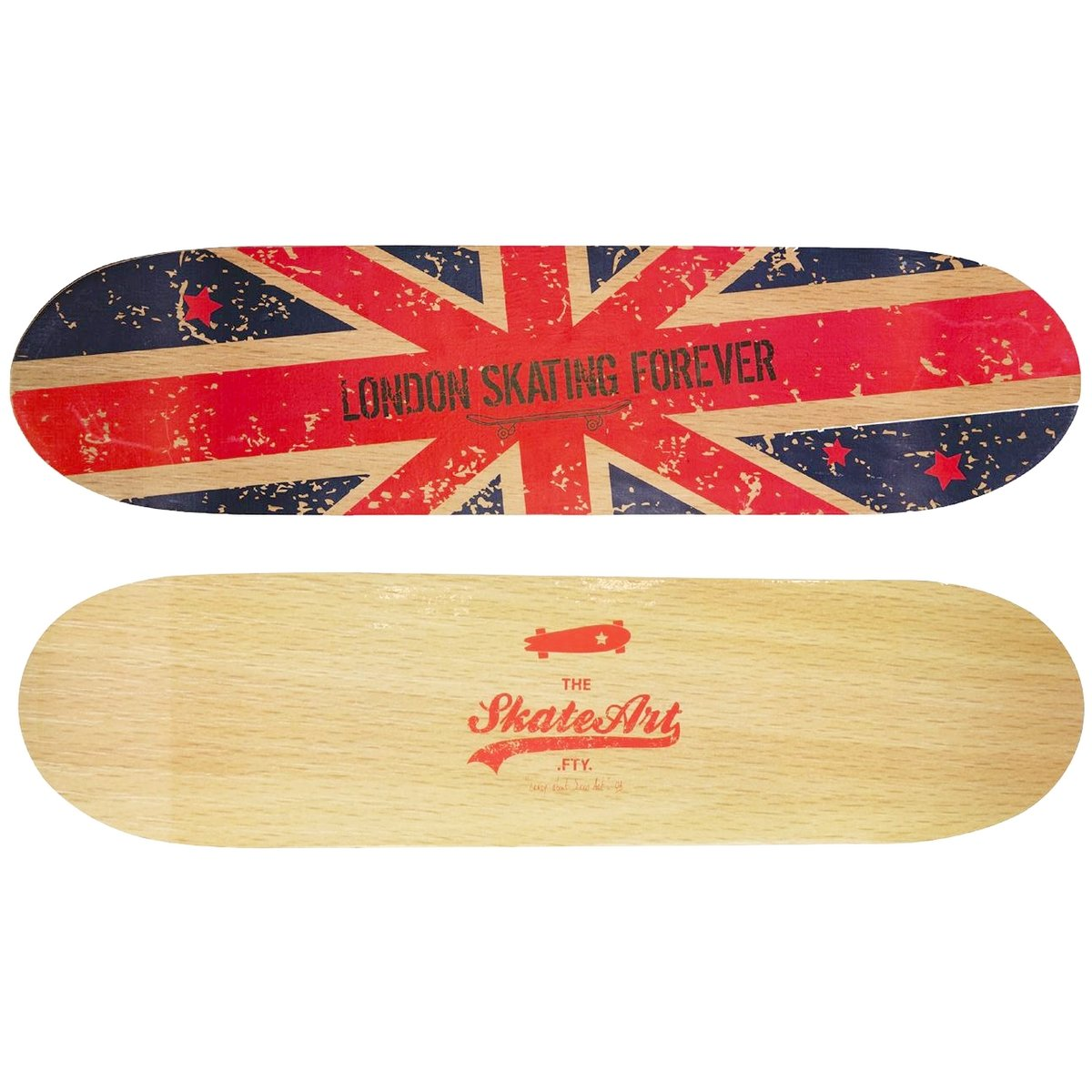 London U2013 Wandregal Form Trend Skate Board Doppelseitig London Flagge  Königreich Uni: Amazon.de: Küche U0026 Haushalt
