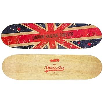 London U2013 Wandregal Form Trend Skate Board Doppelseitig London Flagge  Königreich Uni