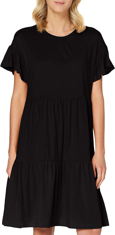 ONLY Damen Onltenna Life S//S Cutline Dress JRS Kleid