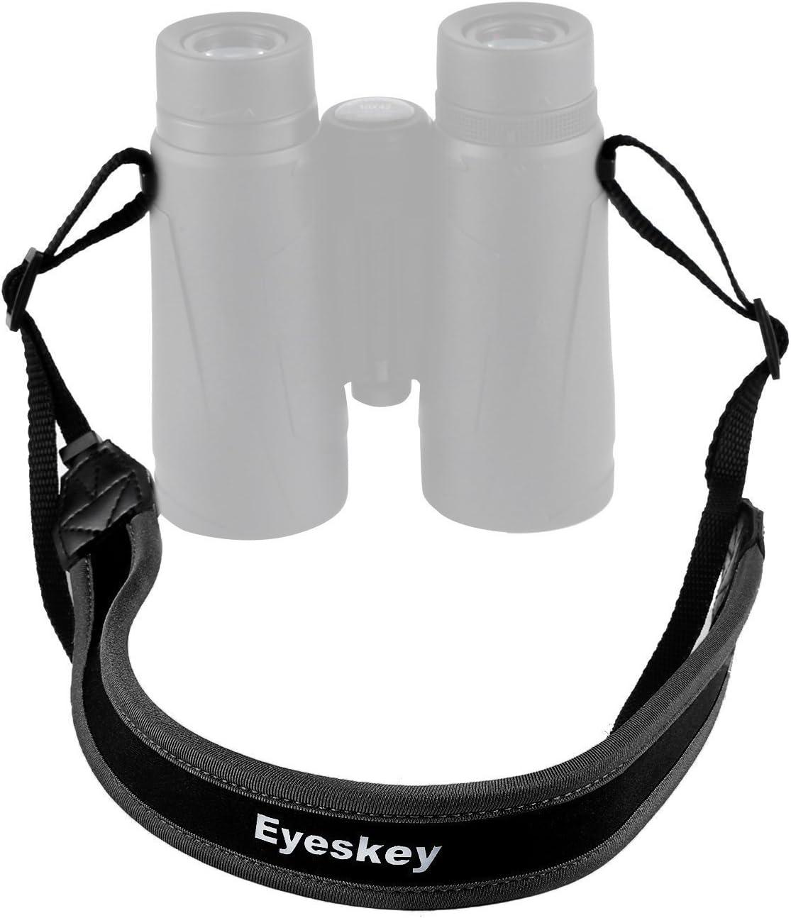 Field Repair Buckle Lightweight Adjustable Length Neck Straps for Binoculars Cameras Loop Connectors TROSCAS Super Comfort Neoprene Optic Straps Type 1