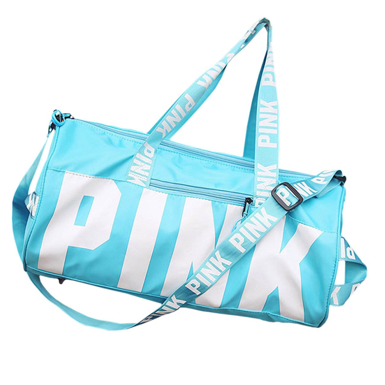 THEE Women High Capacity Waterproof Sports Bag Travel Tote Bag