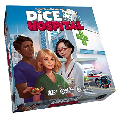 Dice Hospital Alley Cat Games: Toys & Games