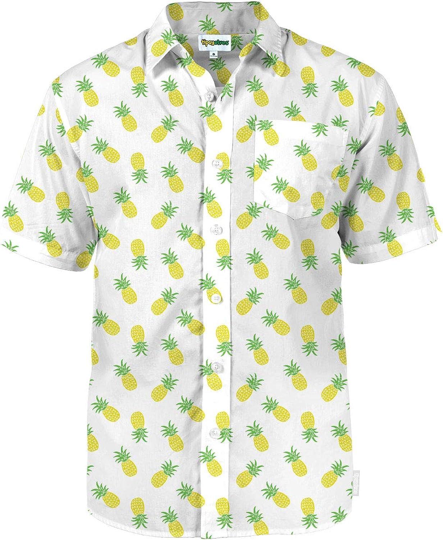 Tipsy Elves Men's Summer Button Down Shirts - Summer Button Down Shirts for Men