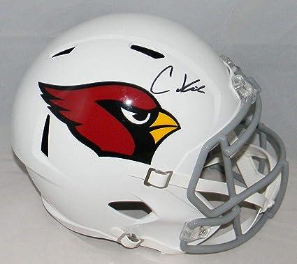 c9cf2446 Amazon.com: Christian Kirk Autographed Helmet - Full Size Speed ...