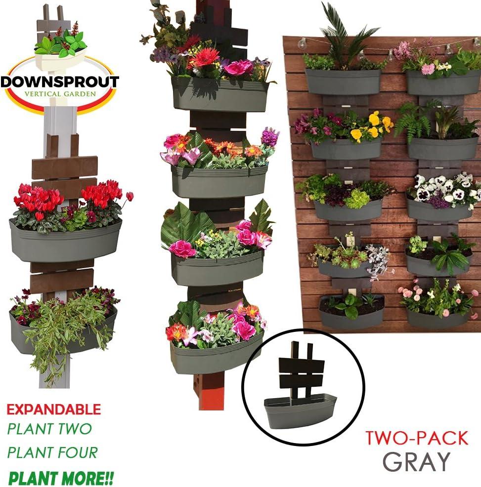 downsprout vertical cubierta de canalón de jardín, puesto de ...