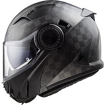 503131098XS - LS2 FF313 Vortex Solid Motorcycle Helmet XS Matt Carbon