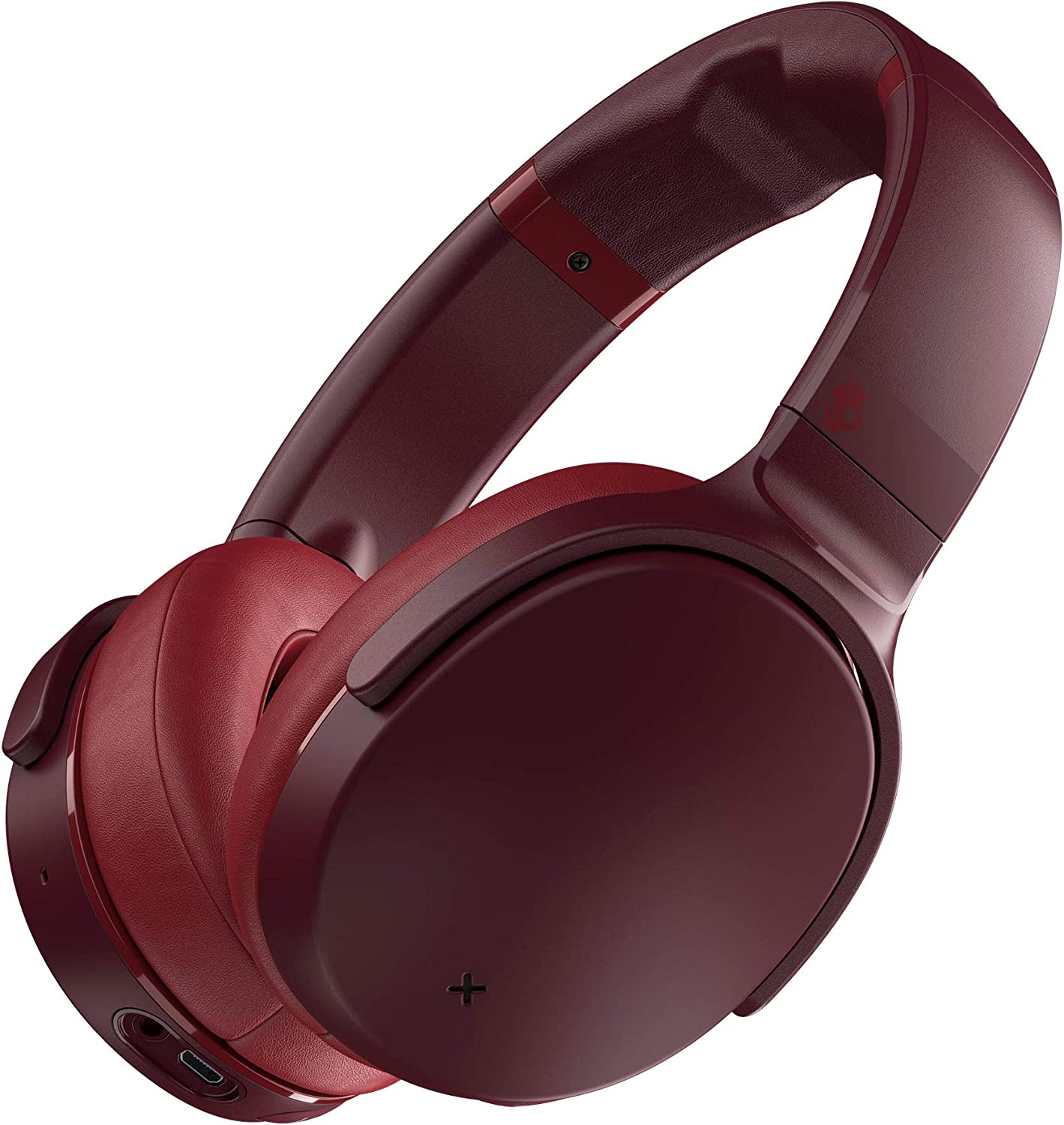 Skullcandy Venue Active Noise Cancelling Wireless Headphones, Moab/Red