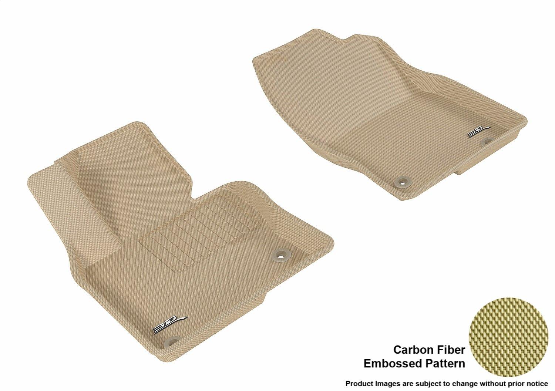 3D MAXpider L1MZ05821509 Black All-Weather Floor Mat for Select Mazda Cx-5 Models Second Row