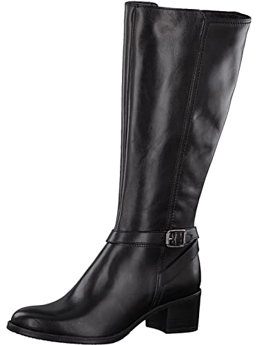 Tamaris Damenschuhe 1-1-25552-29 Damen Stiefel, Boots, Damen Stiefeletten, Herbstschuhe & Winterschuhe für Modebewusste Frau Schwarz (Black), EU 37