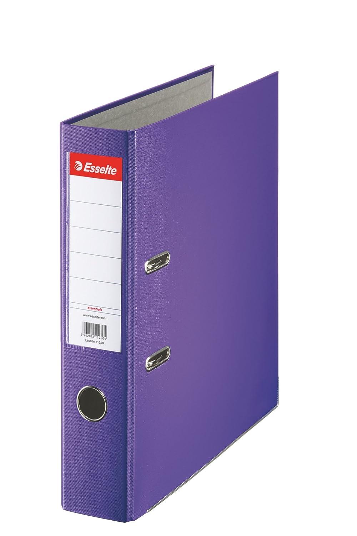 Esselte Group Essentials - Archivador de palanca (lomo 75 mm, A4, 20 unidades), color azul: Amazon.es: Oficina y papelería