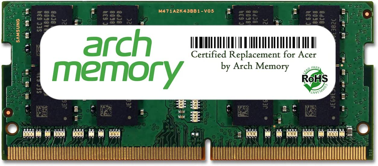 Arch Memory Replacement for Acer 16 GB 260-Pin DDR4 So-dimm RAM for Aspire E5-575-5493