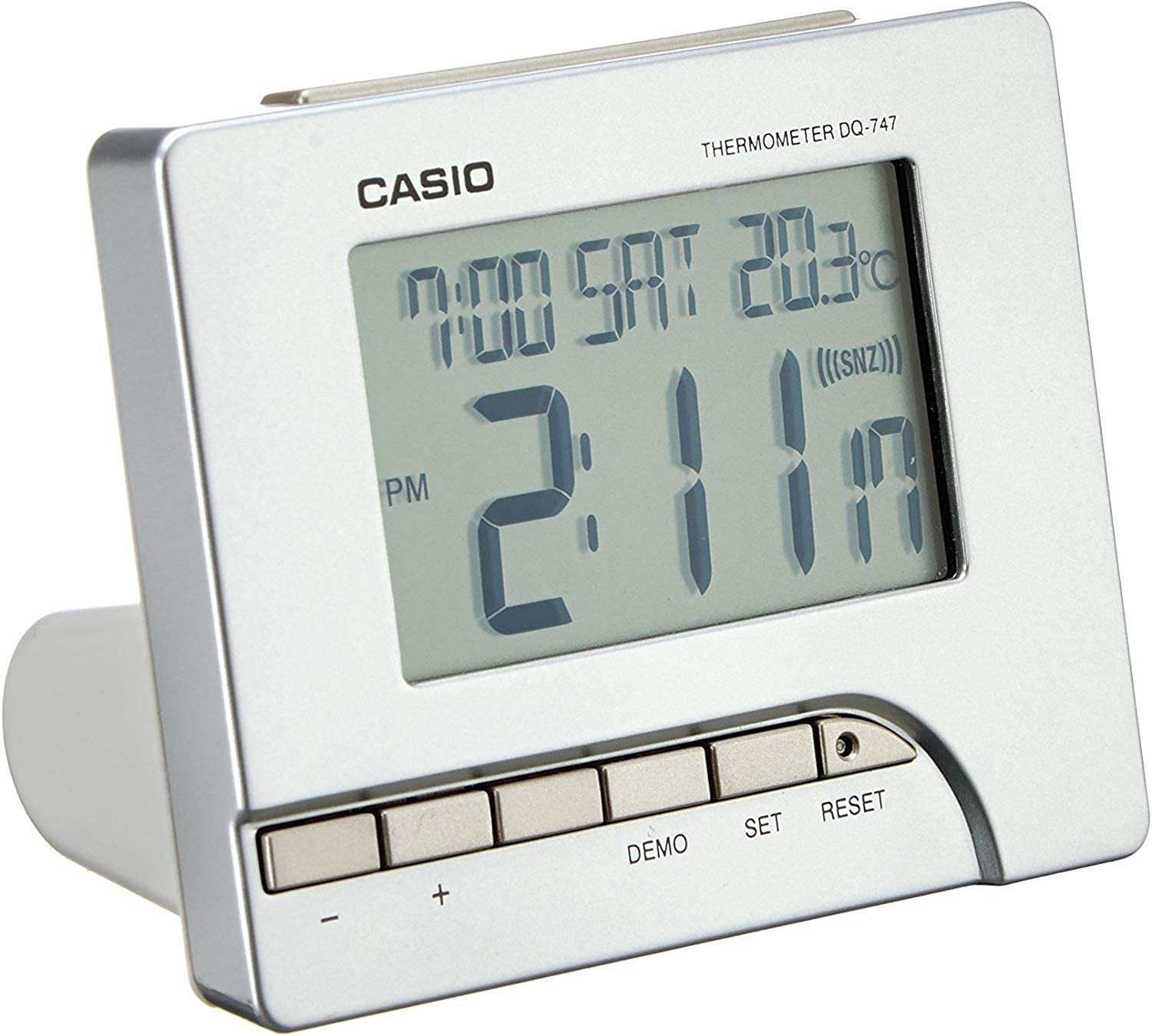Réveil Digital Mixte Casio Collection DQ 747 8EF:  FbZda