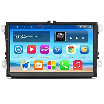 Panlelo S9 Plus 2GB RAM 32GB ROM 9 Pulgadas Android 7.1/8.1 Estéreo para Auto para VW Volkswagen Golf Polo navegación GPS Radio Am/FM/RDS: Amazon.es: ...