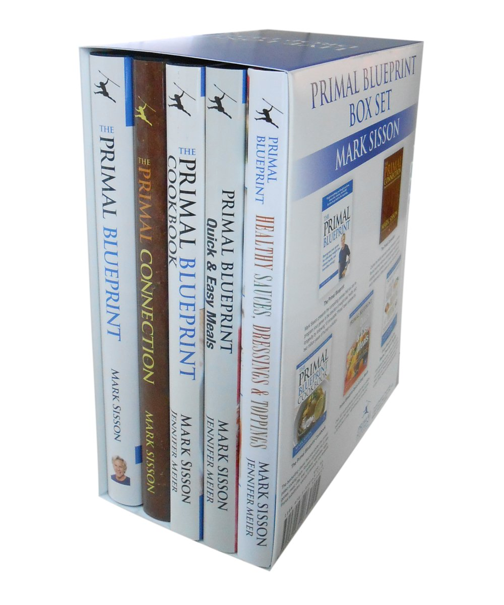 Primal blueprint box set a collection of five hardcover primal primal blueprint box set a collection of five hardcover primal blueprint books jennifer meier mark sisson 9781939563118 amazon books malvernweather Image collections