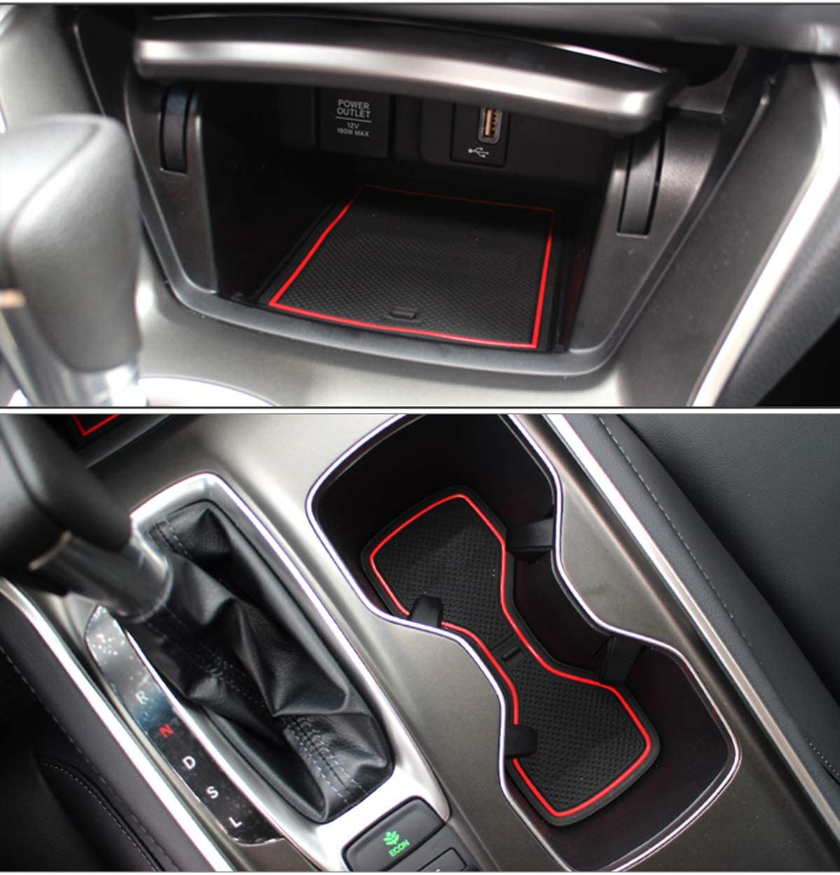 GGBAILEY D2443A-F1A-BK-LP Custom Fit Car Mats for 2007 2010 Saturn Outlook Black Loop Driver /& Passenger Floor 2009 2008