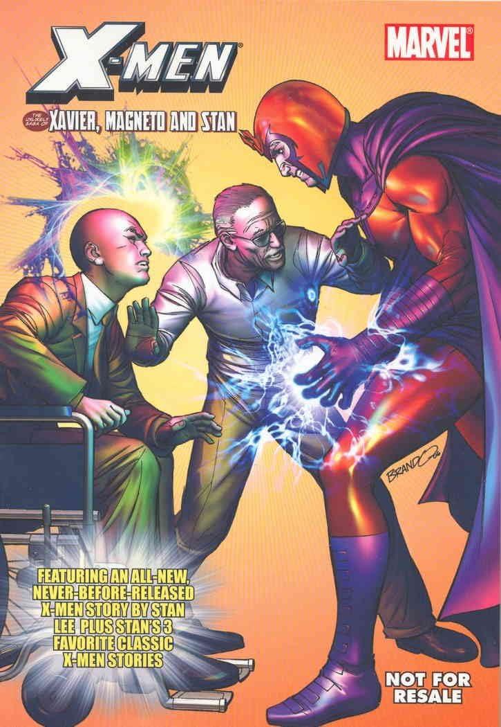 Custom: Deal—Fox Home Entertainment (X-3 Stan Lee DVD Comic) #1 VF/NM ; Marvel comic book