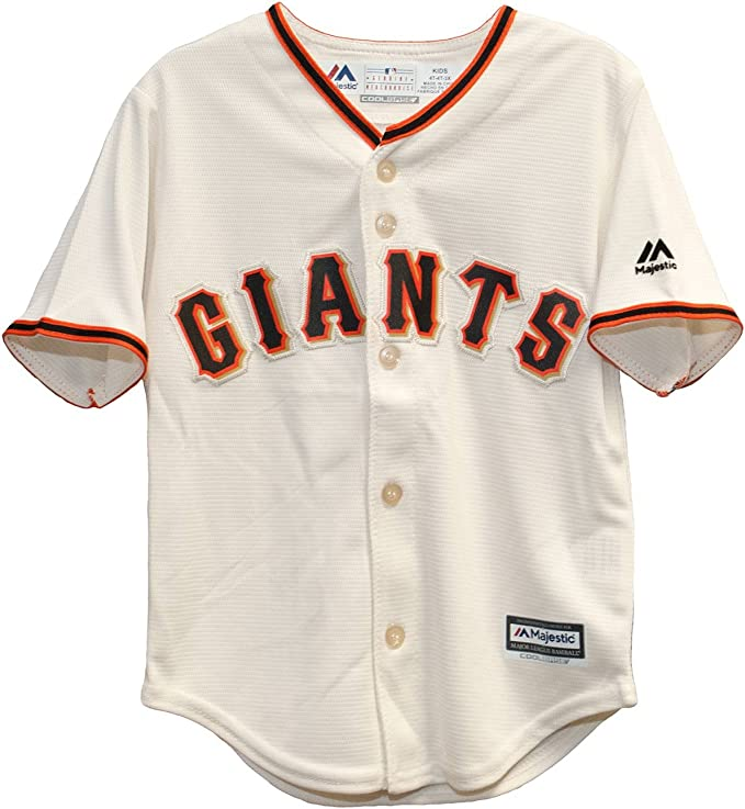 Majestic San Francisco Giants Madison Bumgarner #40 MLB Infant Home Jersey
