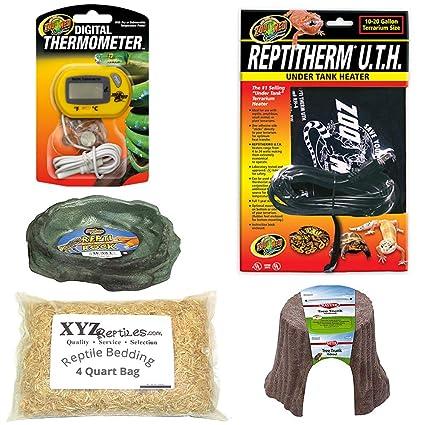 Amazon com : xyzReptiles Ball Python Snake Habitat 10 Gallon