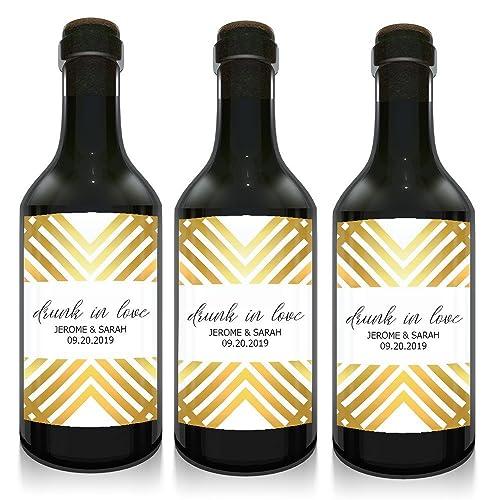 Amazon Wedding Gifts Mini Wine Small Bottle Label For Wedding