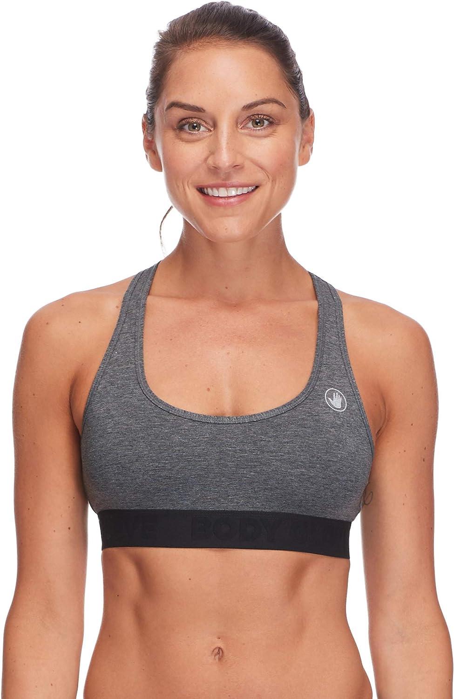 Body Glove Active Womens ARIA Light Support Activewear Sport Bra Bra