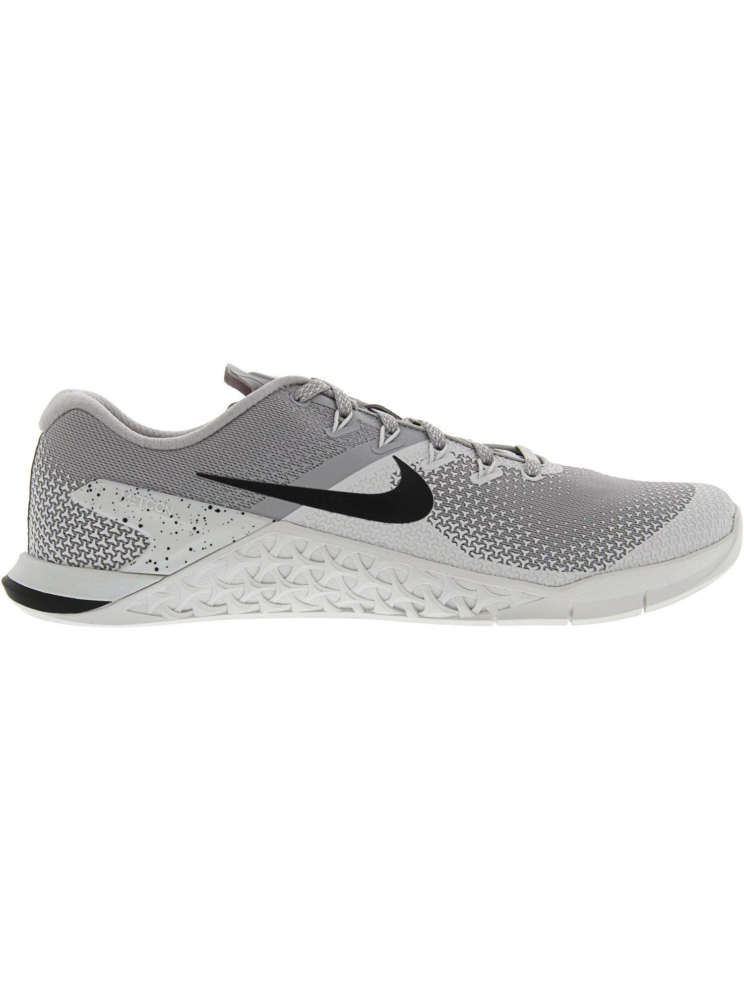 Nike Men's Metcon 4 Atmosphere Grey/Black Ankle-High Cross Trainer Shoe - 6.5M by Nike (Image #4)