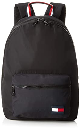 239a62651ff2 Tommy Hilfiger Men s Signature Tape Backpack Navy  Amazon.co.uk ...